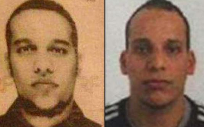 Suspects in the attack in Paris named as Cherif Kouachi and Said Kouachi. Picture: CNN.