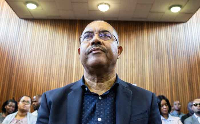 FILE: Manuel Chang, former finance minister of Mozambique, appears at the Kempton Park Magistrates court to fight extradition to the United states on 8 January 2019 in Kempton Park, South Africa. Picture: AFP