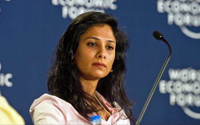 Professor Gita Gopinath will be the first woman to direct the IMF's research department when she takes over from retiring Maurice Obstfeld at the end of 2018. Picture: AFP