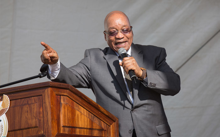 FILE: President Jacob Zuma attending a ceremony at the Kruger National Park in Mpumalanga for the signing of the land claim agreement. Picture: Christa Eybers/EWN.