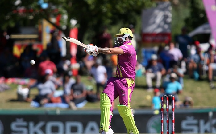 Cameron Delport scored 84 of 45 balls to lead the Paarl Rocks to the MSL playoff. Picture: Twitter/@Paarl_Rocks