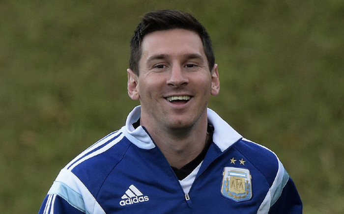 rgentina's forward Lionel Messi during the 2014 Fifa World Cup. Picture: AFP.