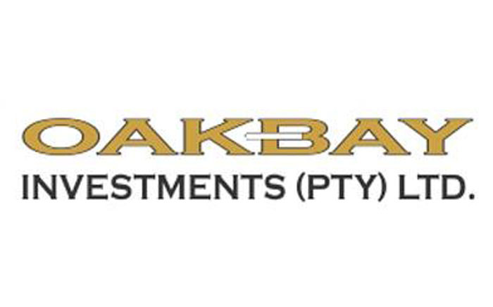 Oakbay Investments logo. Picture: Facebook.