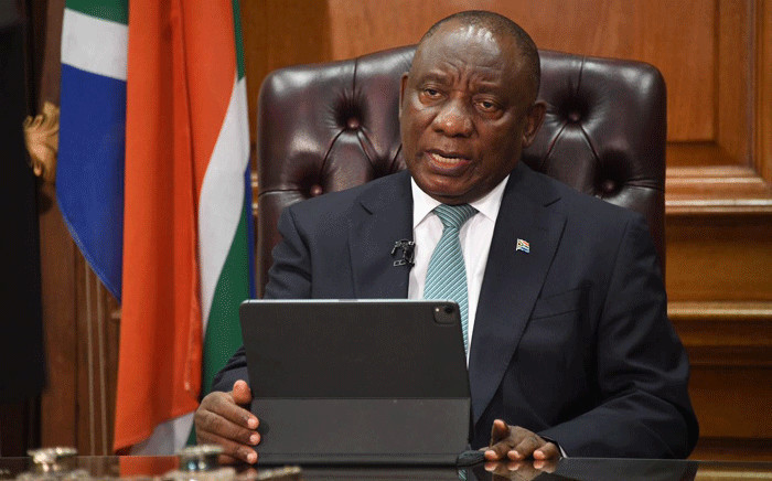 FILE: President Cyril Ramaphosa addressed the nation on 1 February 2021 on government's latest efforts to fight the COVID-19 pandemic. Picture: GCIS.