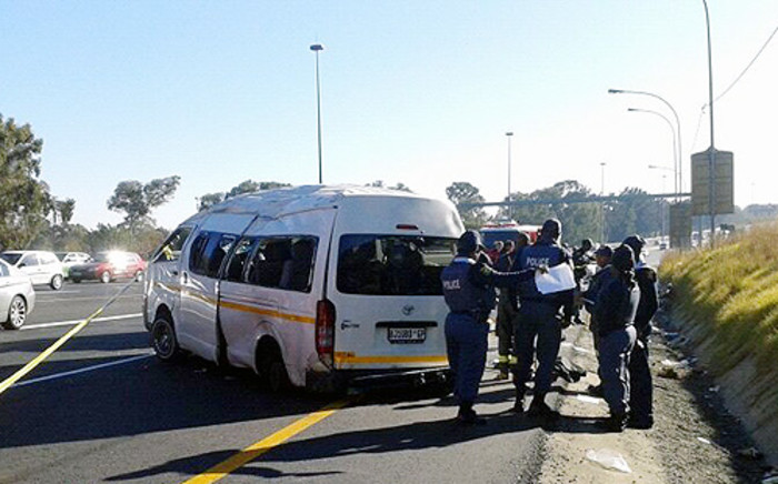 At least 15 people have been killed in road accidents around Gauteng.