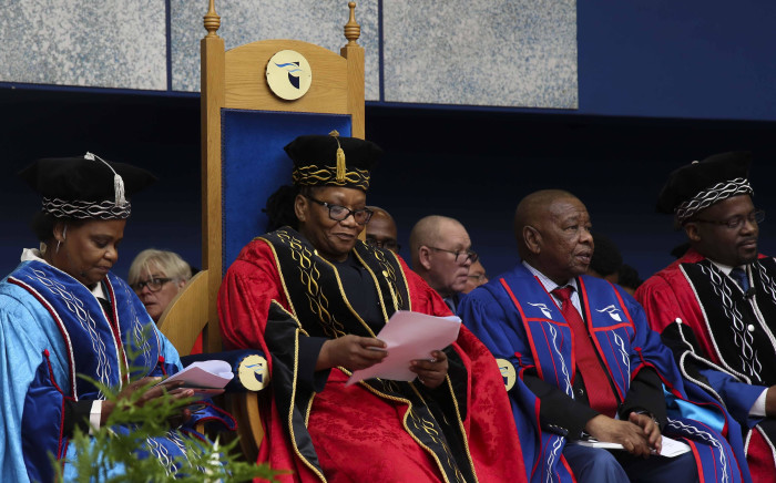 NCOP chairperson Thandi Modise has been sworn in as the chancellor of CPUT. Picture: Cindy Archillies/EWN