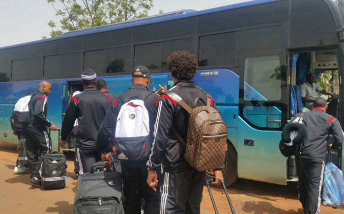 Orlando Pirates have jetted off from the OR Tambo International Airport this morning en route to the Republic of Congo where they will take on AC Leopards on 27 June 2015. Picture: Facebook