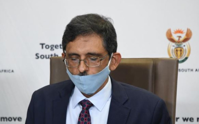 Trade and Industry Minister Ebrahim Patel there was careful consideration to determine if some businesses can be allowed to reopen under the level 4 lockdown regulations. Picture: GCIS