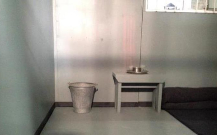 The Robben Island replica cell will form part of an exhibition at the Mandela Museum in Mthata. Picture: EWN.