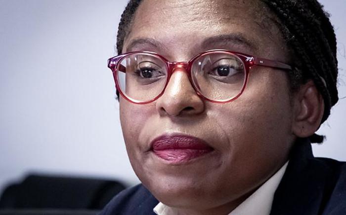 Minister of Small Business Development Khumbudzo Ntshavheni. Picture: Xanderleigh Dookey/EWN