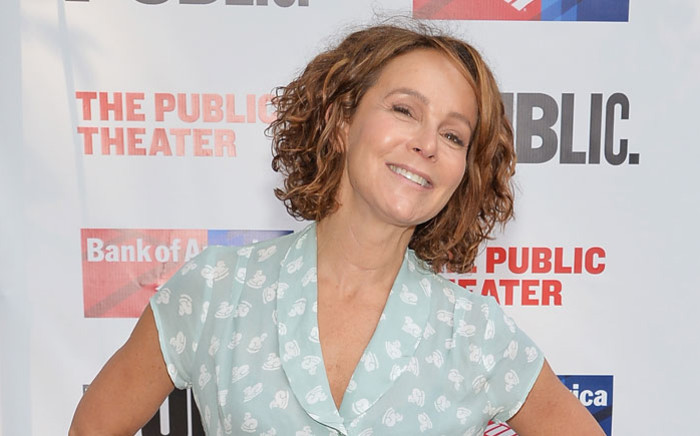 """FILE: Actress Jennifer Grey attends the Public Theater's 2014 Gala celebrating """"One Thrilling Combination"""" on 23 June 2014 in New York, United States. Picture: AFP"""