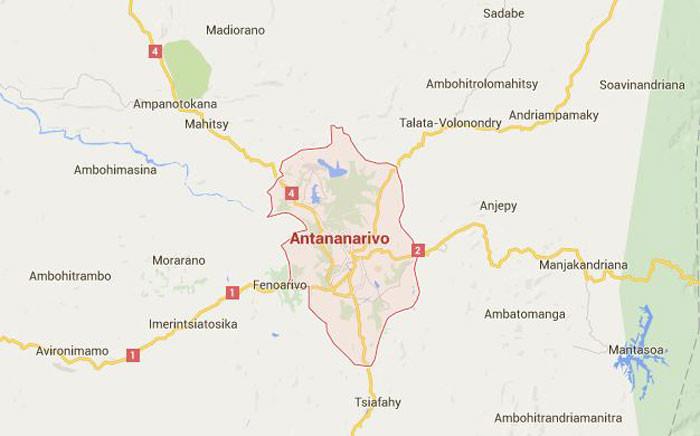 Madagascar. Picture: Google Maps screengrab
