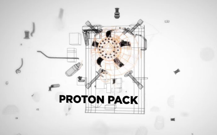 A screengrab showing Sony's 'Proton Pack'. Picture: YouTube.