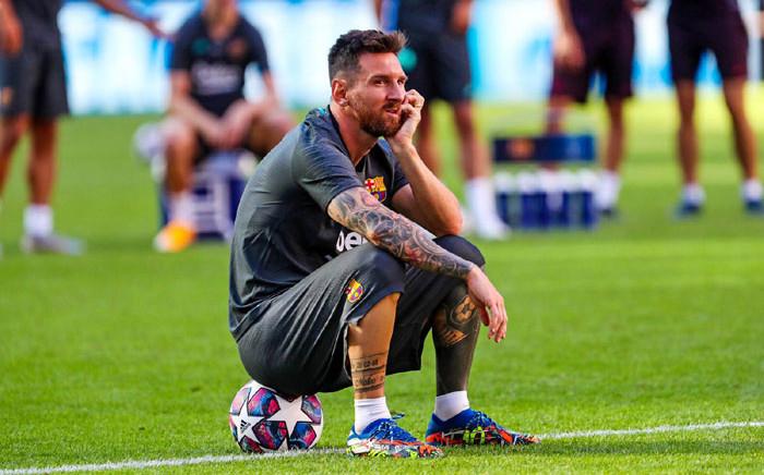 Barcelona's Lionel Messi. Picture: @FCBarcelona/Twitter