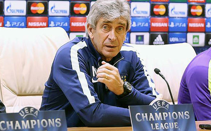 Manchester City manager, Manuel Pellegrini. Picture: Official Manchester City Facebook page