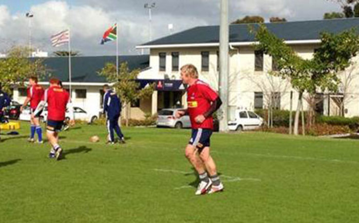 Schalk Burger back at training with Western Province on 14 August 2014. Picture: Rafiq Wagiet/EWN