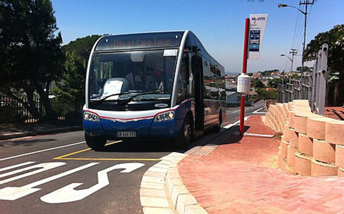 The modern MyCiTi bus to serve new routes was launched in Cape Town on 4 March 2013. Picture: Graeme Raubenheimer/EWN