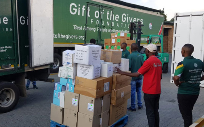 FILE: Gift of the Givers truck. Picture: @GiftoftheGivers/Twitter