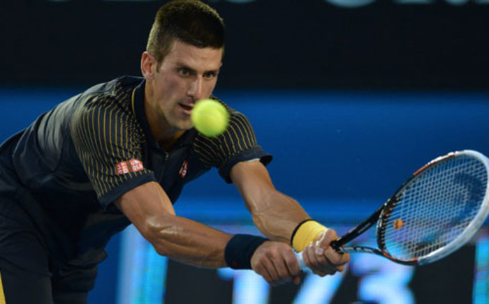 FILE: Serbia's Novak Djokovic. Picture: AFP
