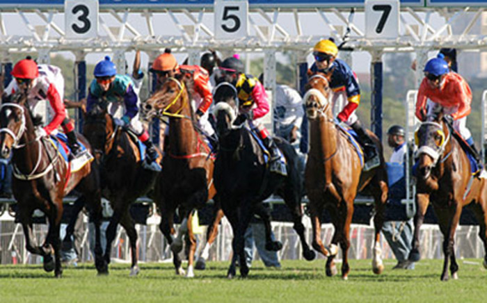 Horses racing at the Vodacom Durban July Horse Rave in 2011. Picture: Supplied