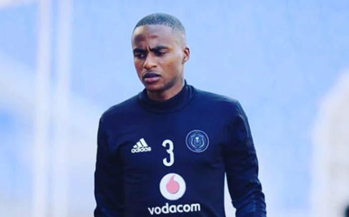Orlando Pirates footballer Thembinkosi Lorch. Picture: Instagram thembinkosi_lorch_3.