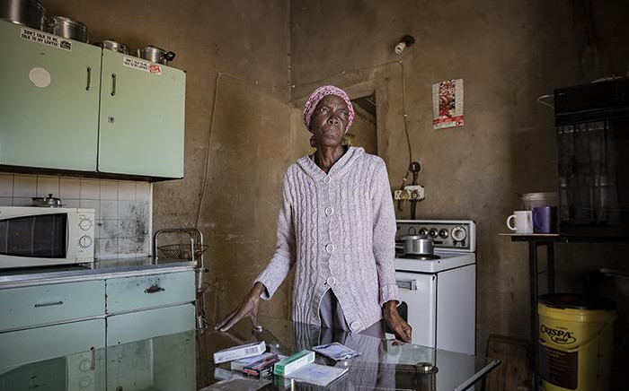FILE: A Boipatong resident complains about having to live with raw sewage. Picture: Sethembiso Zulu/EWN