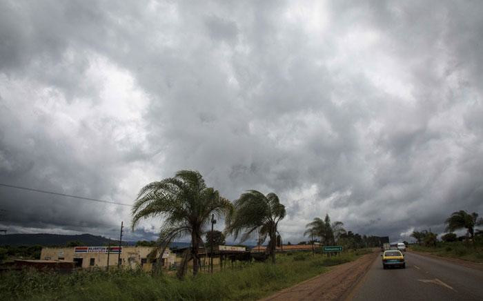Moderate winds and looming storm clouds haven't deterred anyone living in the Vhembe area in northern Limpopo from going about their daily lives. Picture: Thomas Holder/EWN