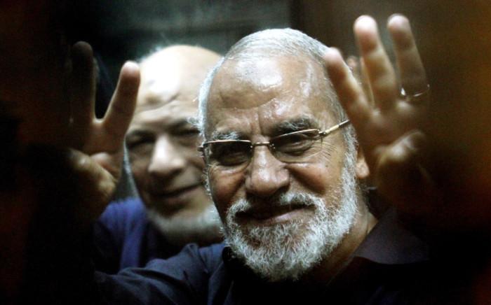 Muslim Brotherhood leader Mohamed Badie. Picture: AFP.