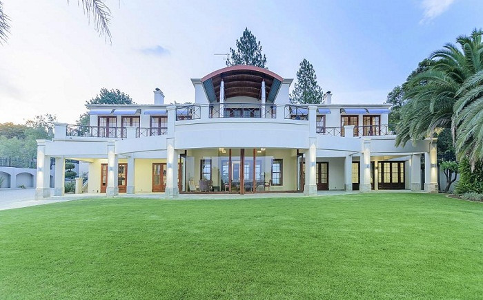 The Gauteng premier's house which was bought in 2004 for R11.5 million. Picture: Supplied.
