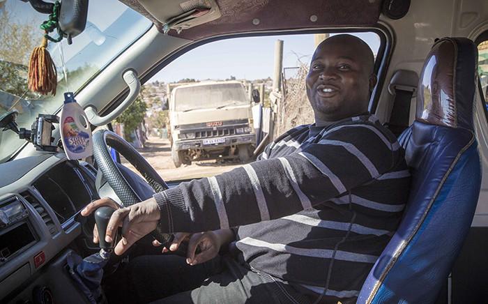 FILE: A taxi driver. Picture: Thomas Holder/EWN