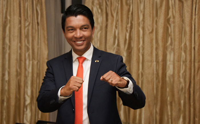 Madagascar presidential candidate Andry Rajoelina. Picture: AFP