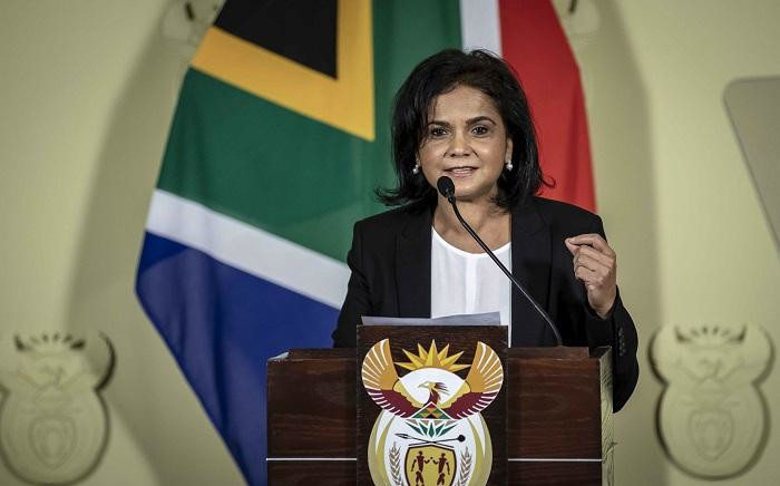 FILE: NDPP Shamila Batohi at the Union Buildings in Pretoria on 4 December 2018. Picture: Thomas Holder/EWN