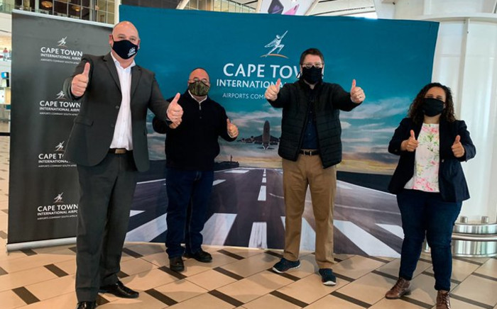 Airport officials briefed City and Provisional government on precautionary measures in place on Friday, 18 September 2020. Picture: Kaylynn Palm/EWN