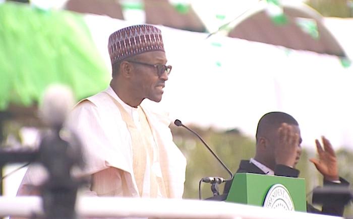 Muhammadu Buhari was inaugurated in Abuja, Nigeria.