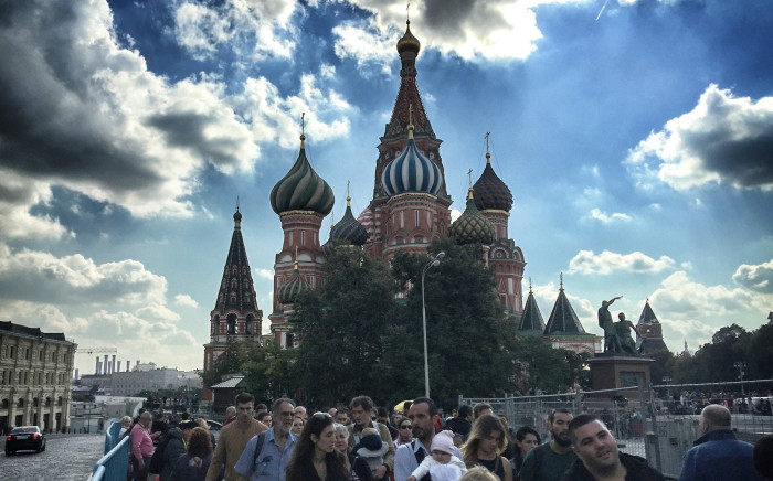 """The Red Square and the magnificent St Basil's Cathedral. Picture: Alex Eliseev/EWN"""""""