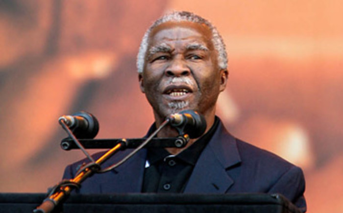 Former President Thabo Mbeki says people still blame the government for not changing society. Picture: EWN.