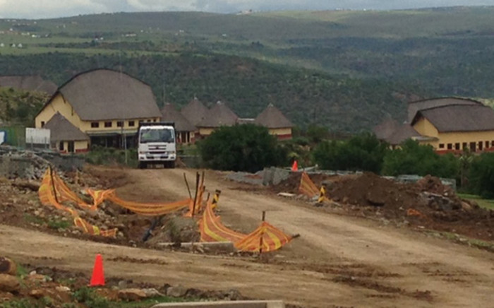 The Nelson Mandela Museum in Mveso is still under construction, Thursday 4 December 2014. Picture: Vumani Mkhize/EWN.