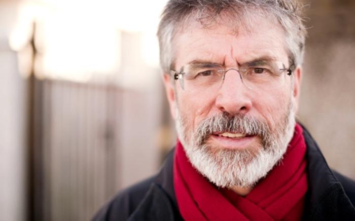FILE: Sinn Fein President Gerry Adams. Picture: AFP.