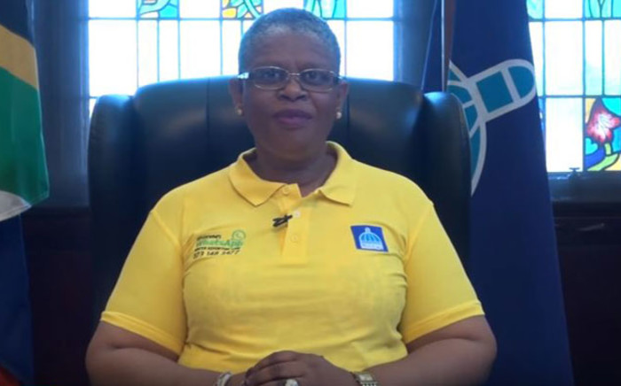 FILE: Former eThekwini Mayor Zandile Gumede. Picture: YouTube screengrab.