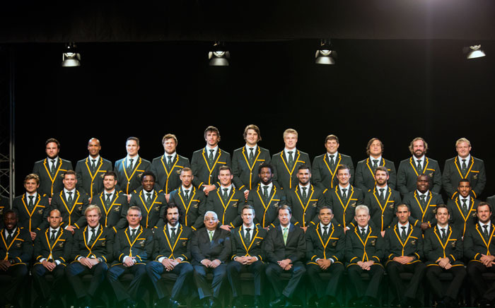 The Springbok team that will represent South Africa at the 2015 World Cup was announced in Durban on Friday. Picture: Anthony Molyneaux/EWN.