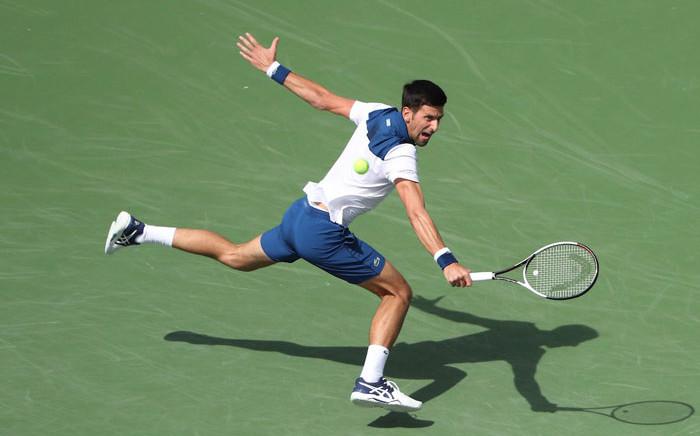 Serbian tennis star Novak Djokovic. Picture: @BNPPARIBASOPEN/Twitter