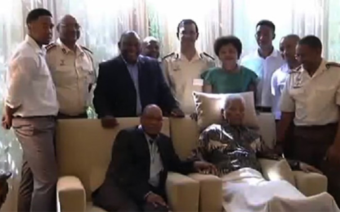 Winnie Madikizela-Mandela has slammed the ANC for its 'insensitive' decision to visit a frail Nelson Mandela at his home in April. The ANC has described her comments as 'regrettable'.Picture:EWN