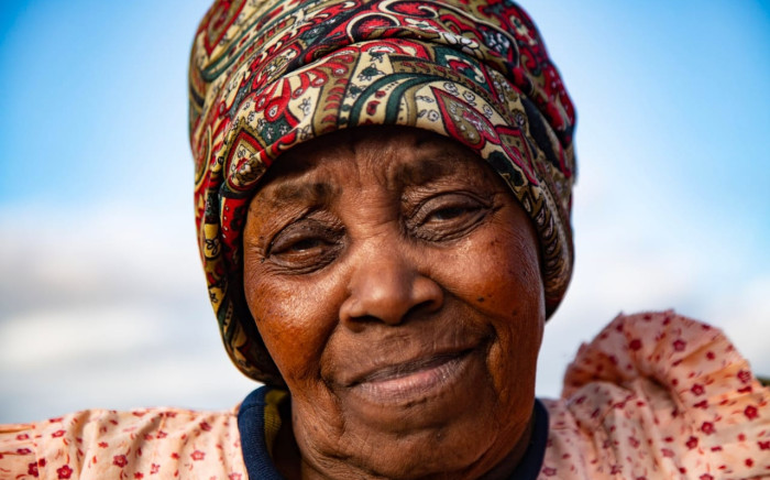 Makazole Mapimpi's grandmother, Nofikelepi Mapimpi. Picture: Kayleen Morgan/EWN