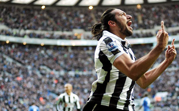 Newcastle's Argentinian winger Jonas Gutierrez. Picture: Official Newcastle United Facebook page.