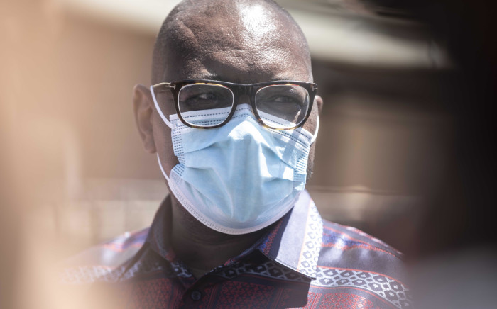 Gauteng Premier David Makhura visited the Chris Hani Baragwanath and the Steve Biko Academic Hospitals on Wednesday to oversee the first rollout of the Johnson & Johnson vaccines allocated to the province. Picture: Abigail Javier/EWN