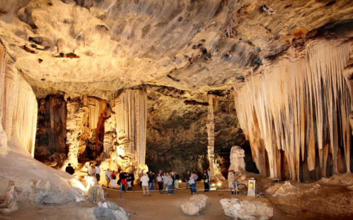 Inside the Cango Caves in Oudtshoorn in the Western Cape. Picture: cango-caves.co.za