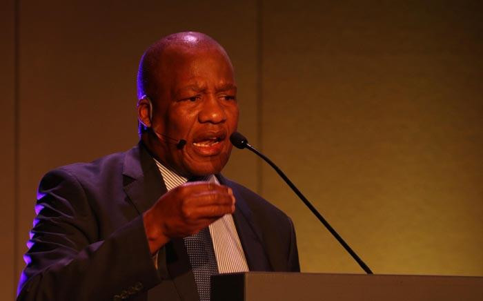 Minister in the Presidency Jackson Mthembu. Picture: EWN.