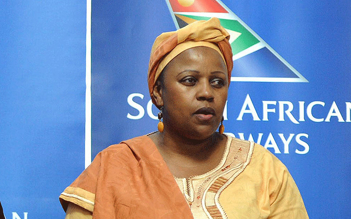 This undated file photo shows Dudu Myeni. Picture: The Presidency/Flickr