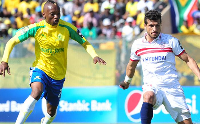 Mamelodi Sundowns vs Zamalek. Picture: sundownsfc.co.za