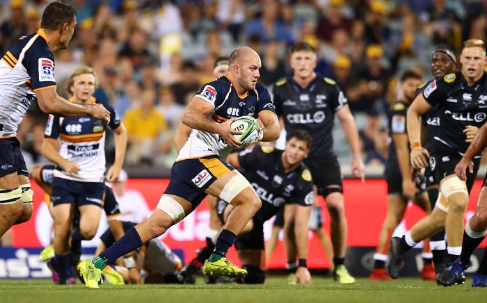 The Brumbies versus the Sharks at the Super Rugby World Cup. Picture: @SuperRugby/Twitter.
